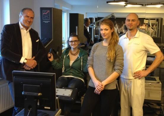 Exkursion zur Orthopädischen Praxis Dr. Baron in Frankfurt