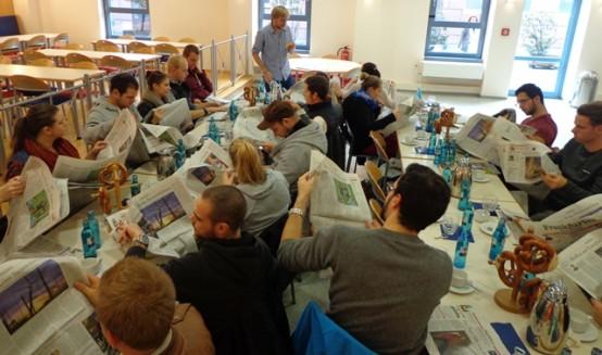 Exkursion zur Frankfurter Neuen Presse