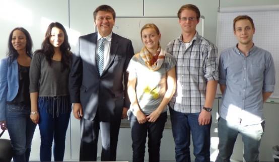 Praxisdialog mit Christoph Fay von der Lufthansa