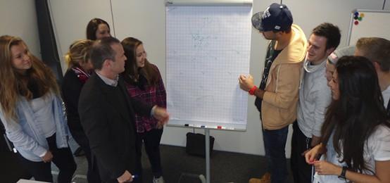 Praxisdialog mit DFB-Jugendtrainer Stefan Böger