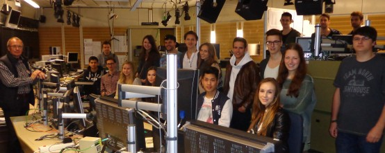 Exkursion zum ZDF nach Mainz