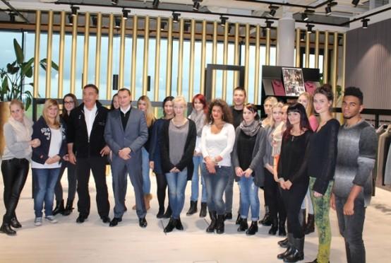EC Europa Campus Studenten mit Jochen Digel